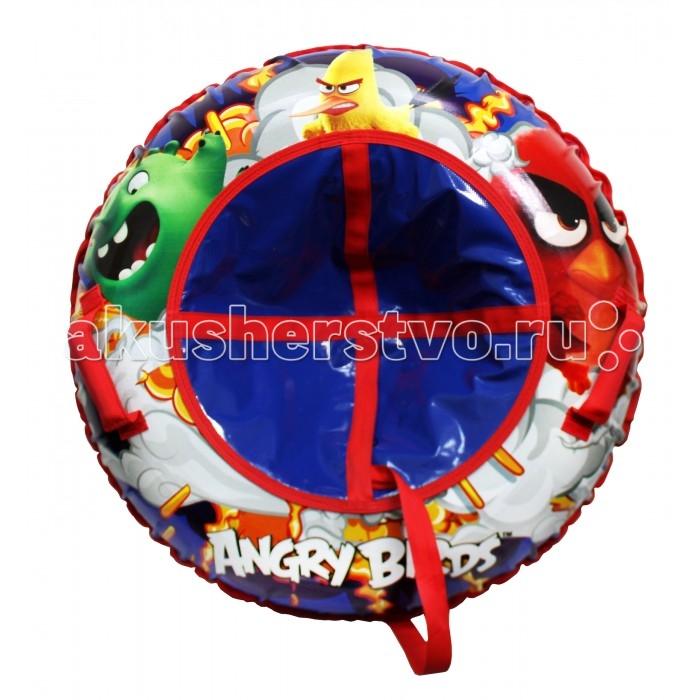 Тюбинг 1 Toy Angry Birds Надувные сани 100 смAngry Birds Надувные сани 100 смAngry Birds Тюбинг надувные сани 1toy  - великолепно подойдет для катания по снежным склонам, для веселого отдыха с друзьями и детьми.  Шины у тюбинга с красочным рисунком отлично подходят для увлекательного зимнего катания. Для удобства пользования, тюбинг имеет плотные ручки, тем самым предотвращая падения при спуске с крутых горок.   Тюбинг Angry Birds- надувные сани с резиновой автокамерой и глянцевым пвх чехлом , размер 85см, буксировочный трос  Материал глянцевый пвх 500 гр/кв.м.,<br>