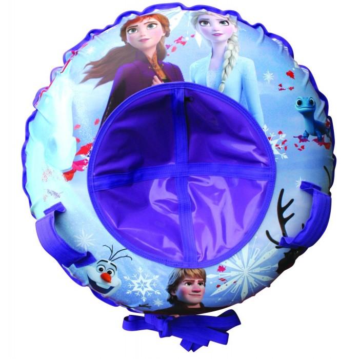 Тюбинг Disney Холодное сердце Надувные сани 100 смХолодное сердце Надувные сани 100 смDISNEY Холодное сердце Надувные сани   - великолепно подойдет для катания по снежным склонам, для веселого отдыха с друзьями и детьми.  Шины у тюбинга с красочным рисунком отлично подходят для увлекательного зимнего катания. Для удобства пользования, тюбинг имеет плотные ручки, тем самым предотвращая падения при спуске с крутых горок.   Тюбинг - надувные сани с резиновой автокамерой и глянцевым пвх чехлом , размер 85см, буксировочный трос  Материал глянцевый пвх 500 гр/кв.м.,<br>