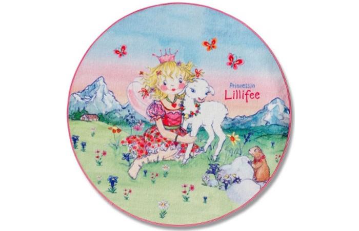 Boing Carpet Ковёр Prinzessin Lillifee 100 см 102-100RКовёр Prinzessin Lillifee 100 см 102-100RКовёр Prinzessin Lillifee 100 см 102-100R станет заключительным штрихом при оформлении детской комнаты в стиле сказочной принцессы.   Играя на этом мягком и теплом коврике малышка сможет легко представить себя на весеннем лугу в окружении бабочек и цветов.   Всостав волокон, используемых при производстве ковра входит Хитозан - вещество 100% натурального происхождения, обладающее антибактериальным свойством и нейтрализующее запахи.  Высота ворса составляет 10 мм.<br>