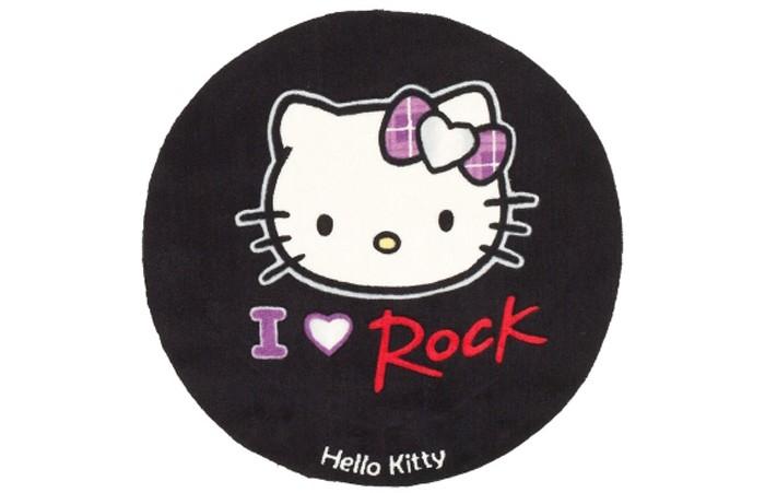 Boing Carpet Ковёр Hello Kitty 80 см НК-15Ковёр Hello Kitty 80 см НК-15Ковёр Hello Kitty 80 см НК-15 непременно оценят поклонницы одноименного мультфильма.  Он станет современным элементом в дизайне девичьей комнаты и принесет много положительных эмоций, добавив тепла и уюта.   В состав волокон, используемых при его производстве входит Хитозан - вещество 100% натурального происхождения, обладающее антибактериальным свойством и нейтрализующее запахи.  Высота ворса составляет 10 мм.<br>