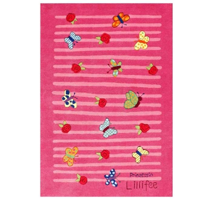 Boing Carpet Ковёр Prinzessin Lillifee 2099Ковёр Prinzessin Lillifee 2099Ковёр Prinzessin Lillifee 2099 станет заключительным штрихом при оформлении детской комнаты, привнеся в нее немного романтизма.  На таком ковре очень приятно играть, сидеть или просто лежать.  В состав волокон, используемых при производстве ковра входит Хитозан - вещество 100% натурального происхождения, обладающее антибактериальным свойством и нейтрализующее запахи.  Высота ворса составляет 10 мм.<br>