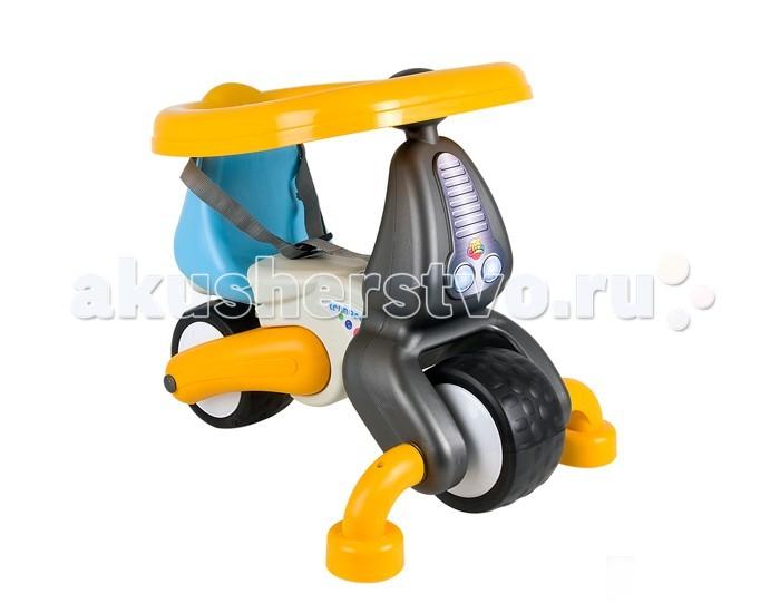 Каталка Coloma TrimarcTrimarcКаталка Coloma Trimarc - ходунки на 2 больших и 2 маленьких колесах, которые крутятся на 360 градусов-очень необычная система катания. Эта каталка будет няней малышу и научит его ходить.Ее можно использовать как ходунки. Удобно создан съемный барьер безопасности. Малыш не выпадет и будет передвигаться по дому, защищенный барьером безопасности.   Когда малыш подрастет, барьер и передние поддерживающие колесики можно снять и использовать каталку как велобалансир на 2-х колесах. Такая каталка-ходунки необходима в каждом доме.На этой каталке малыш быстро научится держать равновесие и отталкиваться ногами.   Особенности: Способствует развитию моторных навыков, за счет этого и умственному развитию малыша Эргономика сиденья - 10 баллов Мягкие бесшумные колеса EVA по современной технологии двойного вспрыскивания каучука в твердое резиновое шасси колеса Детям от 18 месяцев   Размеры: 59.5х45х49 см<br>
