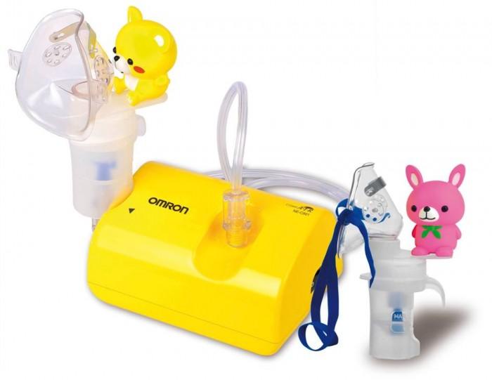 Omron Ингалятор компрессорный NE-C24 KidsИнгалятор компрессорный NE-C24 KidsOmron Ингалятор компрессорный NE-C24 Kids предназначен для домашнего использования. Применяется для профилактики и лечения таких заболеваний как бронхиальная астма, хроническая обструктивная болезнь легких (ХОБЛ), хронический бронхит, бронхоэктатическая болезнь, муковисцидоз, ринит, фарингит, синусит, ларингит, трахеит и другие респираторные заболевания.  Особенности: Модель разработана специально для детей Красочный дизайн прибора, специальные аксессуары в виде кролика и медвежонка, непременно, понравятся каждому ребенку и значительно облегчат процедуру ингаляции Маска для грудных детей в комплекте Пониженный уровень шума (всего 46 дБ) Очень легкий (всего 270 грамм) Можно применять широкий спектр лекарственных препаратов Минимальные потери лекарства во время ингаляции Малый остаточный объем лекарства после ингаляции                В комплекте: компрессор, небулайзерная камера, воздуховодная трубка (ПВХ, 100 см), запасные воздушные фильтры - 5 шт.,  загубник,  маска для взрослых (ПВХ), маска для детей (ПВХ),  Грудничковая маска,  насадка для носа,  адаптер переменного тока, сумка для хранения,  руководство по эксплуатации,  гарантийный талон.  Предоставляется бесплатное пожизненное сервисное обслуживание.<br>