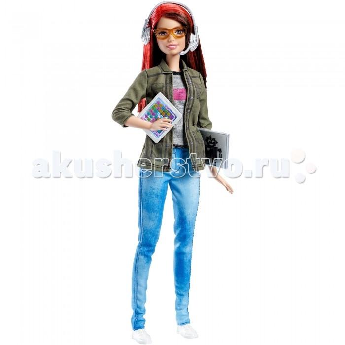 Куклы и одежда для кукол Barbie Кукла Барби Разработчик компьютерных игр barbie barbie балетки резиновые с ремешком белые