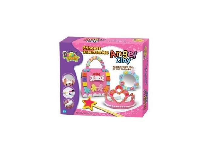 Всё для лепки Angel Clay Игровой набор массы для лепки Princess Accessories набор donerland angel clay милый ангел аа07011