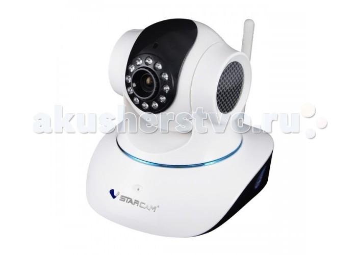 Vstarcam Корпусная камера  C7835WIPКорпусная камера  C7835WIPIP камера C7835WIP VSTARCAM  - это бюджетная поворотная IP камера с поддержкой технологии P2P, инфракрасной подсветкой до 10 метров, максимально простой настройкой  и современным дизайном. Vstarcam C7835WIP - это идеальное бюджетное решение для помещений, надежное и качественное. Камера подойдет тем, кто хочет организовать простую, но функциональную систему видеонаблюдения  Вы можете просматривать видеоизображение с камеры Vstarcam C7835WIP на компьютере, планшете, смартфоне Apple или Android. Настройка камеры понятна и проста, и займет, даже у не подготовленного человека, не более 1 минуты.  Особенности: Корпусная камера  Размер матрицы КК,  1/4inch Тип матрицы КК CMOS Разрешение КК, ТВЛ 1280х720 Диаметр объектива КК, мм 3,6   Угол обзора КК, &#730; 56.14 Минимальное освещение КК, люкс 0,8 Дальность ночного видения КК, м 10 Класс пылевлагозащиты КК IP 40 Вертикальное крепление КК возможно Горизонтальное крепление КК возможно  Цвет КК Черно-белый  Набор крепежей КК в комплекте есть  Детектор движения да Запись по расписанию да Запись по тревоге да Просмотр через интернет да Управление через интернет да Автомат. Восстановление питания да Объем жесткого диска, 64 Гб<br>