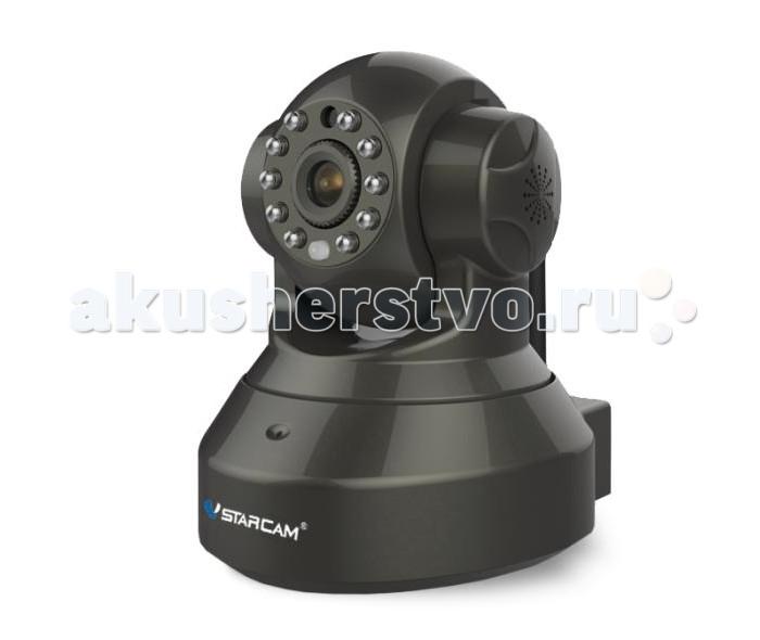 Vstarcam Корпусная камера C9837WIPКорпусная камера C9837WIPКорпусная камера C9837WIP VSTARCAM  Камера имеет существенный набор функций: Русскоязычное приложения для Windows, iOS и Android позволяет управлять всеми функциями камеры практически с любого устройства, подключенного к Интернет, где бы не находились. P2P: работа без статического IP-адреса Циклическая запись видео на MicroSD карту, объемом до 64 Гб с возможностью удаленного просмотра. Фактически, архив у Вас всегда под рукой, с компьютера или ноутбука, планшета или смартфона Поворот на 355 градусов в горизонтальной плоскости и на 120 градусов в вертикальной. Управление поворотом осуществляется прямо через приложение или веб-интерфейс. Поддержка протоколов Onvif 2.4 и RTSP для подключения камеры к сетевым видеорегистраторам и сервисам видеонаблюдения IP-камера с ИК подсветкой позволяет снимать в темноте на расстоянии до 10 метров Встроенный детектор движения Круиз-контроль - движение по заданным точкам Встроенный динамик для передачи звука   Основные отличительные особенности камеры C9837WIP: Очень простая настройка, доступная каждому пользователю, даже не имеющему опыта работы с IP-камерами. Принцип Plug and Play. Нет необходимости использовать статический IP-адрес. Вы экономите на абонентской плате, благодаря уникальной технологии P2P. Архив на карте памяти Micro SD до 64 ГБ с возможностью удаленного просмотра. HD качество видео 960P (1280х960) Объектив 3.6 мм, сенсор CMOS 1/3, угол обзора 73 градуса Русскоязычное программное обеспечение  для просмотра и управления камерами и техническая поддержка продукта.  Просмотр с мобильных устройств Apple или Android<br>