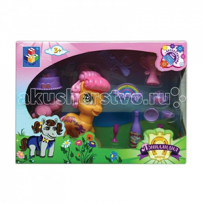 Игровые наборы 1 Toy Пониландия Пони с аксессуарами 10 см mymilly с 1 дверкой 175 см пони