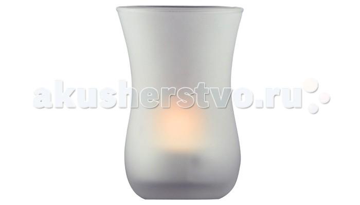 Ночники Ультра Лайт Стакан Ночник-свеча настольный  настольный светильник ультра лайт kt420b желтый