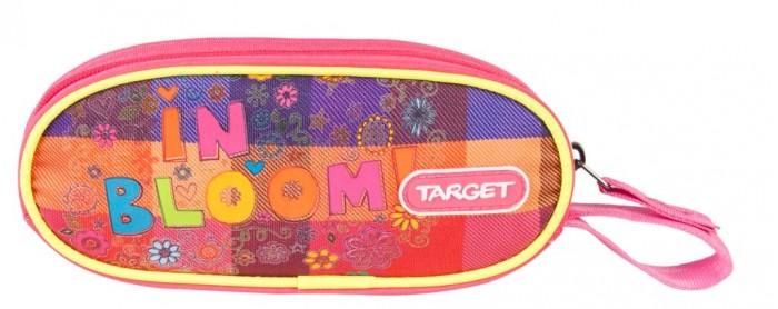 Пеналы Target Collection Пенал овальный Расцветание пенал овальный цветение target
