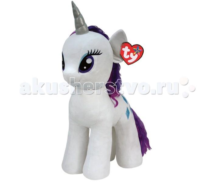 Мягкая игрушка Май Литл Пони (My Little Pony) Пони Rarity 76 смПони Rarity 76 смПони Rarity 76 см - очаровательная мягкая игрушка из новой коллекции My little Pony. Ваш ребенок обязательно подружится с таким красивым белым единорогом.   Игрушка мягкая и приятная на ощупь, большие красивые глаза и знак отличия вышиты, грива красивая и очень гладкая.   Красавица единорог Рэрити — отчаянная модница и талантливый дизайнер. У нее ранимый и чувствительный характер и она лучше всех остальных пони разбирается в вопросах красоты. Рэрити владеет магией, которая помогает ей в ее творчестве.  Пони Rarity 76 см станет не просто игрушкой, но и милым дополнением к декору любой детской комнаты.<br>