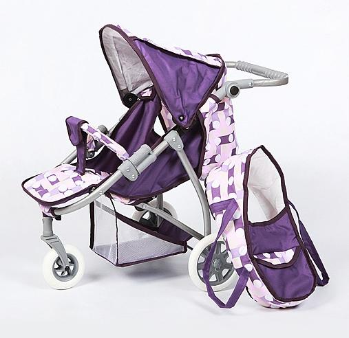 Коляска для куклы Wakart АннаАннаКоляска кукольная Wakart Анна - яркая и стильная коляска, которая не оставит равнодушной ни одну девочку.  Особенности:  поворотные передние колеса, люлька-переноска, регулируемая ручка по высоте, складывающийся капюшон корзинка для аксессуаров. Коляска устойчивая и легкая.  Изготовлена из нетоксичных материалов, безопасных для вашего ребенка (металл/Пластик, текстиль).  Внимание! Расцветки коляски могут отличаться от представленных на фото.<br>