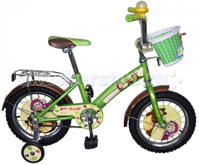 Велосипед двухколесный Navigator Маша и Медведь Kite-тип 14