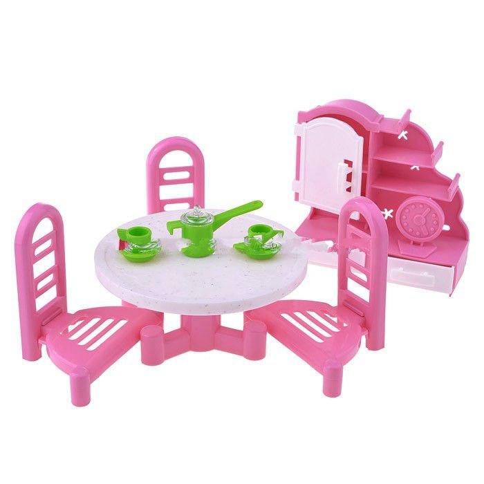 Кукольные домики и мебель Форма Набор мебели Гостиная-2 мебель для кухни