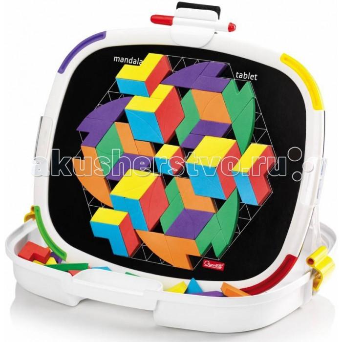 Quercetti Магнитная мозаика МандалаМагнитная мозаика МандалаQuercetti Магнитная мозаика Мандала из 84 геометрических фигур. станет замечательным подарком для Вашего ребенка. Подобно древнему восточному философу, ребенок сможет создавать бесконечные мандалы с яркими абстрактными фигурками. Складываясь в круги вокруг центра, они создают интересный 3D эффект, который вызовет бурю восторга у юного создателя. Магнитная мозайка Мандала позволит расслабиться и снять стресс, а также развивает координацию движений, мелкую моторику и образное мышление.  В наборе:  360 деталей 48 магнитных букв  12 карточек<br>