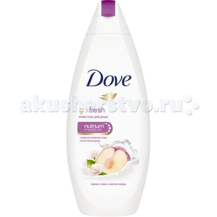 Косметика для мамы Dove Крем-гель для душа Слива и цветы сакуры 250 мл dove крем для тела с эффектом загара