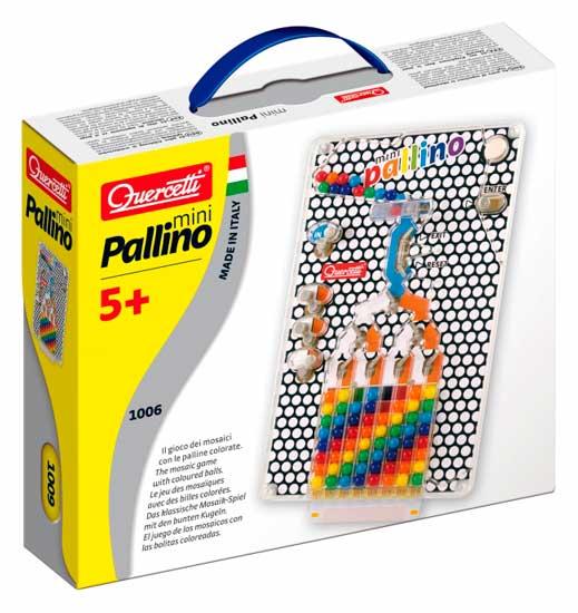 Игры для малышей Quercetti Настольная игра Паллино мини quercetti настольная игра распредели цвета мини