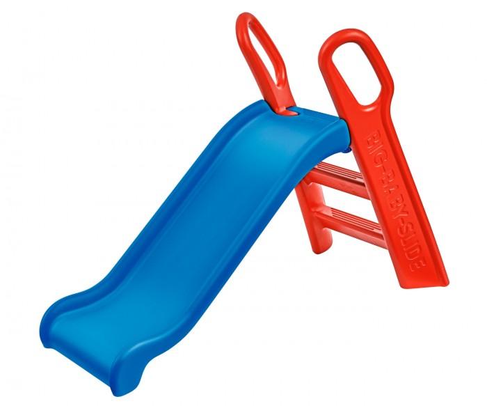 Горка BIG Baby SlideBaby SlideГорка выполнена из упрочненного пластика Длина ската 118 см  Максимально допустимый вес ребенка 50 кг Для детей от 3-х лет  Размер игрушки: 134х60х92 см  Размер упаковки: Длина: 119 см Ширина: 26 см Высота: 60 см  Вес: 9,3 см<br>