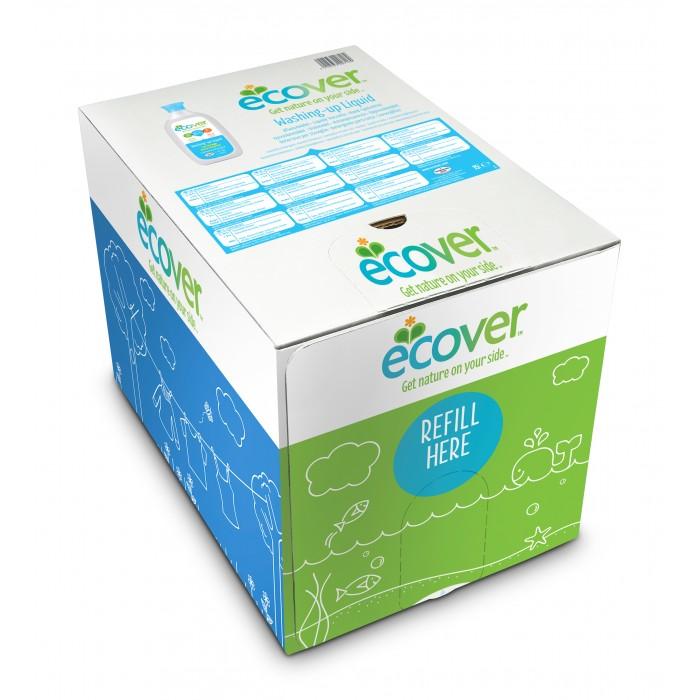 Ecover Экологическая жидкость для мытья посуды с ромашкой и молочной сывороткой 15 лЭкологическая жидкость для мытья посуды с ромашкой и молочной сывороткой 15 лEcover Экологическая жидкость для мытья посуды с ромашкой и молочной сывороткой 15 л  Отлично отмывает посуду от загрязнений, оставляя только блеск! Дерматологически протестирована – подходит для чувствительной кожи Полностью смывается  Не тестируется на животных Изготовлена из возобновляемых растительных ингредиентов Изготовлена на экофабрике Подходит для септиков  Способ применения: Нанести небольшое количество жидкости на губку, намылить посуду и смыть. Жидкость для мытья посуды Ecover эффективна без большого количества пены.<br>