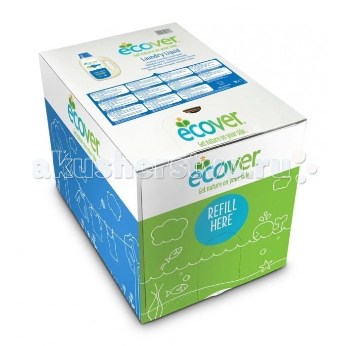 Ecover Экологическая жидкость для стирки в картонной упаковке 15 лЭкологическая жидкость для стирки в картонной упаковке 15 лEcover Экологическая жидкость для стирки в картонной упаковке 15 л  Беспощадна к пятнам и безопасна для людей - БЕЗ ЭНЗИМОВ, ФОСФАТОВ, оптических отбеливателей  Идеально подходит для одежды младенцев и детей  Бережно стирает любое белое и цветное бельё  Исключительно отстирывает даже при низкой температуре  Не оставляет остатки химикатов на одежде и коже  Свежий аромат из компонентов на растительной основе, не содержит синтетических запахов, без аллергенов  Средства для стирки Эковер - только натуральная растительная и минеральная основа, не содержат нефтепродуктов  Способ применения: Экологическая жидкость для стирки подходит для использования при температурах от 30 до 60 С.  Машинная стирка: Используйте 2+1/3 колпачка жидкости на загрузку машины в случае, если загрязнение обычное и вода средней жесткости. Для сильно загрязненных вещей и жесткой воды увеличьте дозу. Уменьшите дозу для мягкой воды. Количество средства на одну полную загрузку машины (4-5 кг сухого белья): 1 колпачок (~35 мл).  Ручная стирка: Добавьте 1,5 колпачка жидкости на 5 литров теплой воды. Стирайте и полоскайте как обычно. Воду, оставшуюся после применения экологической жидкости для стирки, можно использовать для поливки сада и комнатных растений.<br>