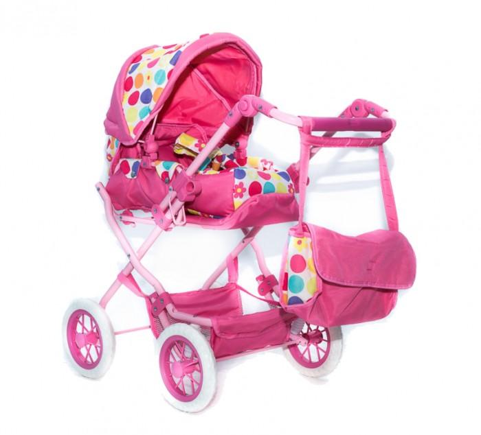 Коляска для куклы Vip Toys 753 (9918)753 (9918)Коляска складная с ручкой, меняющейся по высоте. Может превращаться в прогулочную коляску. В комплекте - люлька-переноска с ремнями.   Складной капюшон с окошком, чтобы мама могла присматривать за малышом. В комплекте - сумочка. В нижней части коляски - багажная корзинка для игрушек.   В этой коляске использованы самые новейшие ткани с пропитками, чтобы коляска не загрязнялась, и Вы не стирали ее часто, современная фурнитура и прорезиненные колеса с добавлением мягкого каучука. Производство этих моделей доведено до совершенства - коляски очень легкие, быстро и удобно складываются.  Особенности: превращается в прогулочную люлька переноска в комплекте сумочка  Размер 77x44x83 см<br>