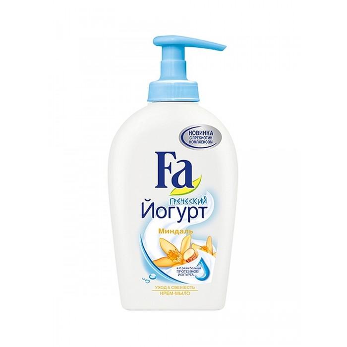 Косметика для мамы Fa Жидкое крем-мыло Греческий Йогурт Миндаль 250 мл жидкое мыло sodasan пряный апельсин 250 мл