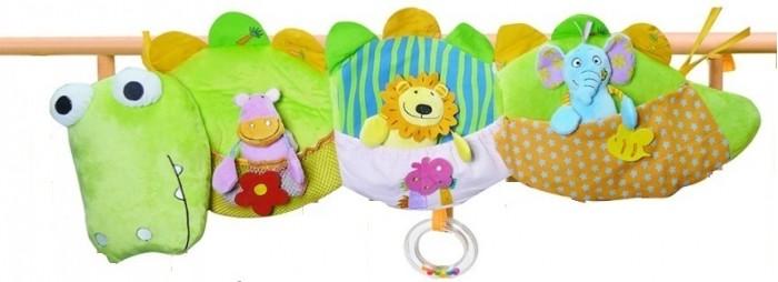 Подвесные игрушки Biba Toys Мои друзья из джунглей biba toys на клипсе обезьянка br120