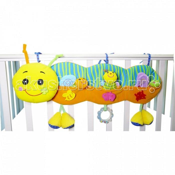 Подвесные игрушки Biba Toys Улитка GD018 biba toys на клипсе обезьянка br120