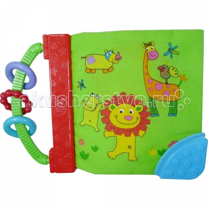 Книжки-игрушки Biba Toys Книжка-игрушка Мои друзья джунгли biba toys на клипсе обезьянка br120