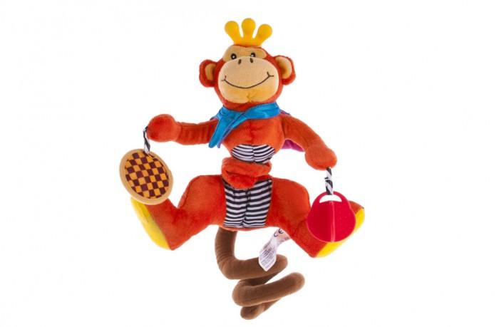 Подвесные игрушки Biba Toys Спиралька Обезьянка biba toys на клипсе обезьянка br120