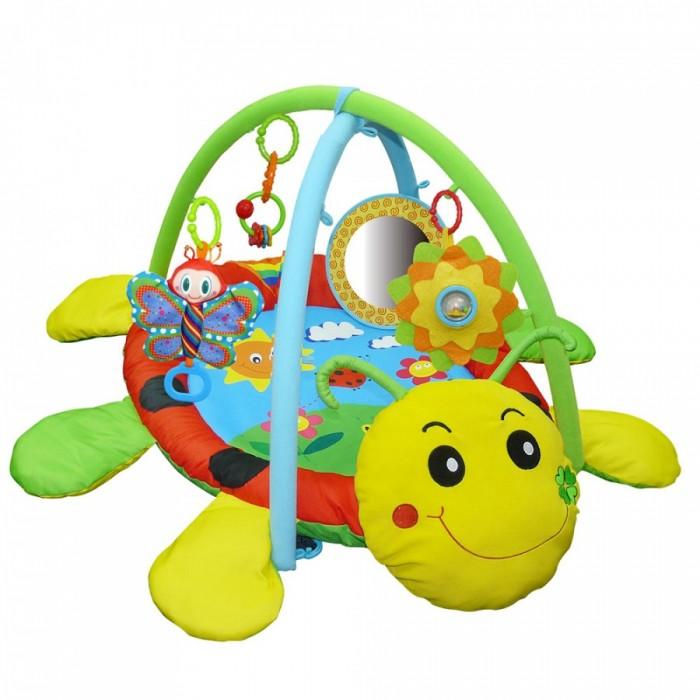 Развивающие коврики Biba Toys Божья коровка biba toys на клипсе обезьянка br120