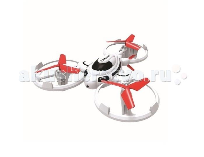 1 Toy Gyro-Explorer трикоптерGyro-Explorer трикоптер1 Тoy Gyro-Explorer трикоптер  маленький трикоптер, размером 17 х 17 см. Подходит для полётов как дома, так и на улице. К техническим особенностям относятся два скоростных режима, функция Автоматического возвращения квадрокоптера в сторону пилота, а также программируемый план полёта.  Особенности: частотa 2,4GHz 4 канала 6-осевой функция автоматического возвращения программируемый маршрут полёта<br>