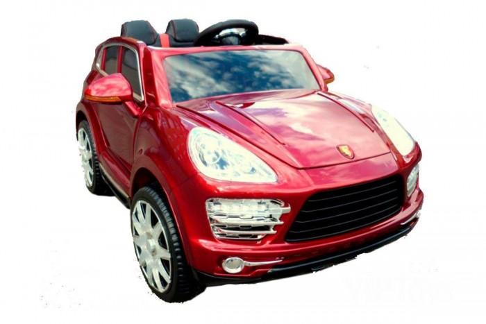 Электромобиль Vip Toys Porche HZB1888Porche HZB1888Если вы хотите, что бы Ваш ребёнок был самым стильным на улице и во дворе, то приобретите ему этот двухместный аккумуляторный автомобиль. Уникальность этого автомобиля в том, что при нажатии на специальную кнопку, автомобиль танцует. Играть с такой машиной еще интересней.   Рассекая просторы на этой потрясающей игрушке, очень просто, выглядит «как взрослый». Предмет зависти для всех ребят и гордости для вашего малыша. Реалистичный дизайн. Эта игрушка разработана, чтобы обеспечивать ребенку максимальную безопасность.  Характеристики: корпус-полипропилен усиленный, закаленный, противоударный высококачественный экологически чистый пластик чехлы из экокожи соответствует европейским стандартам безопасности для детей от 3-х лет реалистичный дизайн копия настоящего Porsche Cayenne понравится любом ребенку двухместный аккумуляторный автомобиль машинка качается при нажатии на специальную кнопку 2 педали, газ-тормоз игрушка разработана, чтобы обеспечивать ребенку максимальную безопасность открываются двери и багажник капот открывается при помощи взрослых, там спрятан аккумулятор зеркала складываются функция легкой транспортировки-выдвигаются колесики и ручка как у чемоданов съемные колеса на фиксаторах есть ремни безопасности светящиеся колеса и фары есть аудио-вход, громкость регулируется сиденья с чехлами и регулируются ближе-дальше амортизаторы на все 4 колеса развивает скорость 3-5 км/ч очень плавный пуск при нажатии на газ отпустить педаль газа - плавная остановка, для быстрой остановки нужно нажать педаль тормоз колеса с протектором и резиновой рифленой вставкой  пульт дистанционного управления для родителей действует на расстоянии до 25 метров  время непрерывной езды до 2 часов максимальная нагрузка: 30 кг аккумуляторная батарея 12V-7 АH 2 мотора по 35W  Размеры (дхшхв): 130x77x78 см<br>