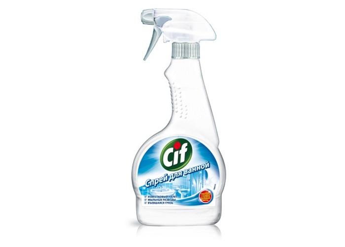 Бытовая химия Cif Чистящее средство для ванной 500 мл средство чистящее domestos свежесть атлантики универс 24час