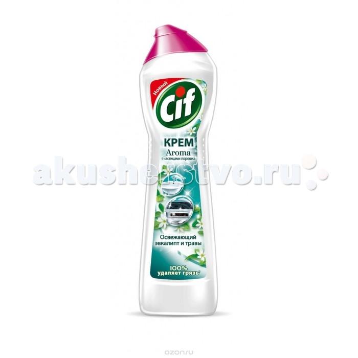 Бытовая химия Cif Чистящий крем Aroma Зеленая свежесть 500 мл крем чистящий zero универсальный на основе натурального мела и сока лайма 500 мл