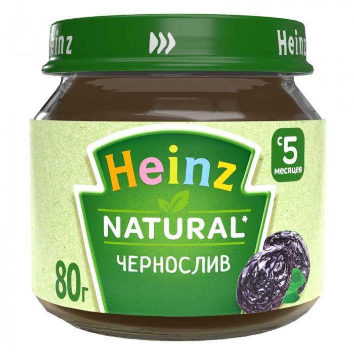 Пюре Heinz Пюре Чернослив с 5 мес., 80 г спеленок пюре морковь с яблоком с 5 мес 80 гр