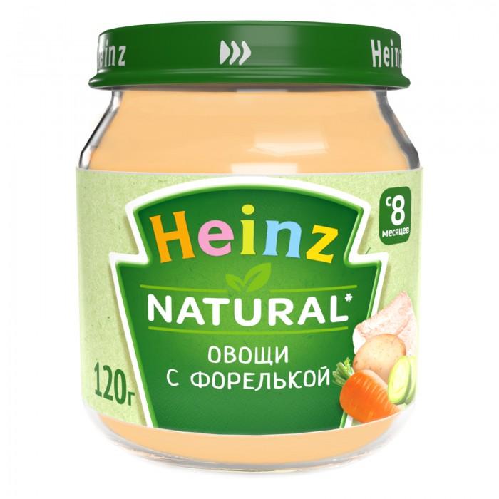 Пюре Heinz Пюре Овощи с форелькой с 8 мес., 120 г спеленок пюре морковь с яблоком с 5 мес 80 гр
