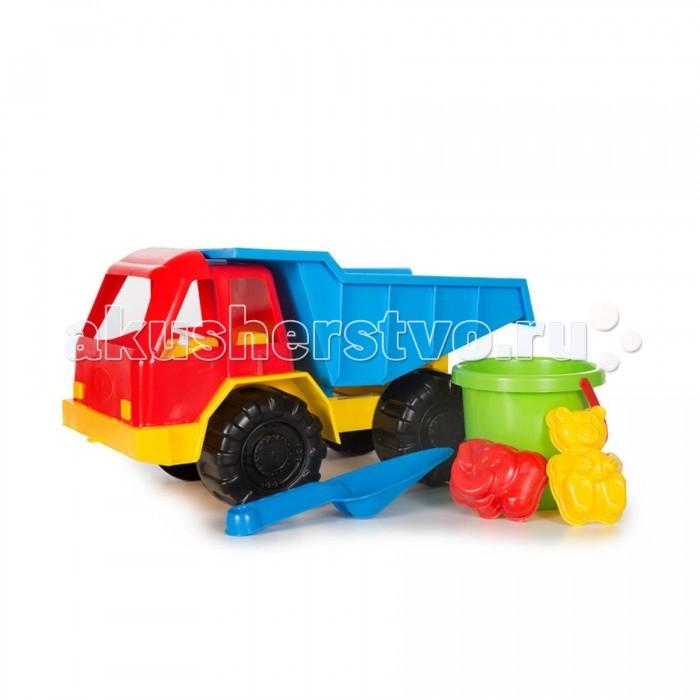 Игрушки в песочницу Кассон Набор для песочницы Грузовик б у грузовик с манипулятором в кра