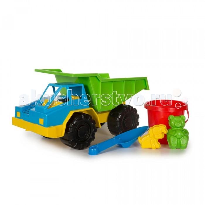 Игрушки в песочницу Кассон Набор для песочницы Грузовик карьерный б у грузовик с манипулятором в кра