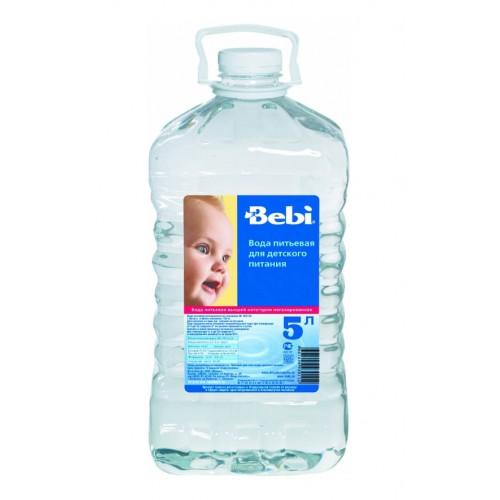 Вода Bebi Вода детская питьевая с 0 мес., 5 л вода жемчужина байкала 0 5 л спорт негазированная упаковка 12 шт