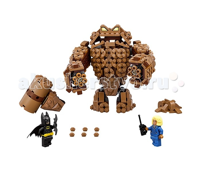 Lego Lego Batman Movie 70904 Атака Глиноликого