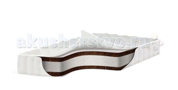 Матрас Babysleep премиум класса EcoComfort Cotton 120x60х11премиум класса EcoComfort Cotton 120x60х11Экологически чистый ортопедический матрас для новорожденных BabySleep EcoComfort Cotton обеспечит ребенку комфортный сон и позволит правильно развиваться позвоночнику.  Состав: кокосовая плита с латексной пропиткой; аэраторы основа - блок Naturalform на основе полиуретана высококачественный хлопковый жаккард, без ворса, обладает способностью впитывать влагу,с противоклещевой и противомикробной пропиткой;  Основные характеристики ортопедического матраса Babysleep EcoComfort Cotton:  100% натуральный материал, кокосовая плита производства концерна ENKEV (Голландия), с полной латексной пропиткой, прочно скрепляющей кокосовые волокна, увеличивающей долговечность и придающей пружинящие свойства. Обладает естественной вентиляцией, гигиеничностью и антиаллергенностью. Обеспечивает матрасу жесткость и долгий срок эксплуатации.  блок «Naturalform», производства итальянской фабрики «GommaGomma: материал, имеющий специфическую пористую внутреннюю структуру, обладающий отличной воздухопроводимостью и гигиеничностью, отсутствием избыточной влажности и вредных микроорганизмов. Производится на основе пенополиуретана высокой плотности путем вспенивания и очистки водой.  Составляющие матраса BabySleep EcoСomfort Cotton скреплены по технологии последнего поколения Hot melt . Hot melt –это термопластичная смесь,которая в своем составе не содержит растворителей.Изготавливается на основе натуральной смолы.И создает сверхпрочное сцепление наполнителей матраса.. Данная технология соответствует мировым и европейским стандартам качества.  По периметру расположены аэраторы, которые обеспечивают нужную вентиляцию; Все компоненты и ткани, используемые в данной модели, имеют Международный сертификат качества Oeko-Tex Standard 100.<br>