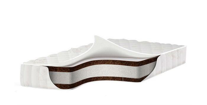 Матрас Babysleep премиум класса EcoComfort Cotton 125x65х11премиум класса EcoComfort Cotton 125x65х11Экологически чистый ортопедический матрас для новорожденных BabySleep EcoComfort Cotton обеспечит ребенку комфортный сон и позволит правильно развиваться позвоночнику.  Состав: кокосовая плита с латексной пропиткой; аэраторы основа - блок Naturalform на основе полиуретана высококачественный хлопковый жаккард, без ворса, обладает способностью впитывать влагу,с противоклещевой и противомикробной пропиткой;  Основные характеристики ортопедического матраса Babysleep EcoComfort Cotton:  100% натуральный материал, кокосовая плита производства концерна ENKEV (Голландия), с полной латексной пропиткой, прочно скрепляющей кокосовые волокна, увеличивающей долговечность и придающей пружинящие свойства. Обладает естественной вентиляцией, гигиеничностью и антиаллергенностью. Обеспечивает матрасу жесткость и долгий срок эксплуатации.  блок «Naturalform», производства итальянской фабрики «GommaGomma: материал, имеющий специфическую пористую внутреннюю структуру, обладающий отличной воздухопроводимостью и гигиеничностью, отсутствием избыточной влажности и вредных микроорганизмов. Производится на основе пенополиуретана высокой плотности путем вспенивания и очистки водой.  Составляющие матраса BabySleep EcoСomfort Cotton скреплены по технологии последнего поколения Hot melt . Hot melt –это термопластичная смесь,которая в своем составе не содержит растворителей.Изготавливается на основе натуральной смолы.И создает сверхпрочное сцепление наполнителей матраса.. Данная технология соответствует мировым и европейским стандартам качества.  По периметру расположены аэраторы, которые обеспечивают нужную вентиляцию; Все компоненты и ткани, используемые в данной модели, имеют Международный сертификат качества Oeko-Tex Standard 100.<br>