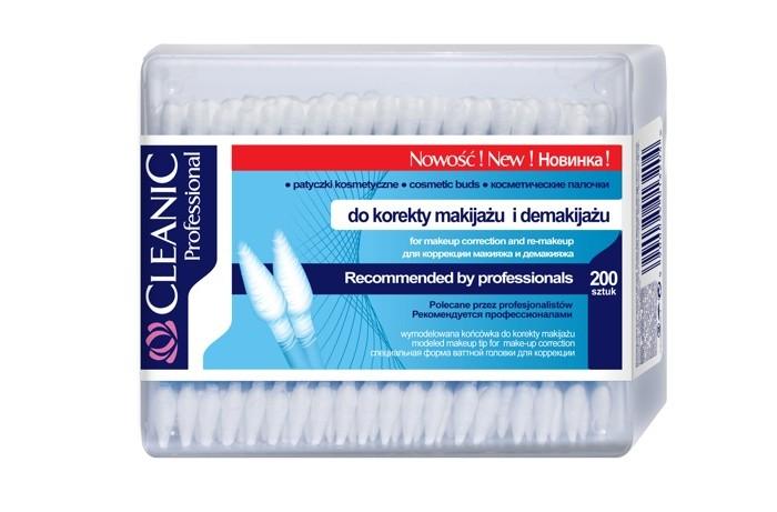 Уход за малышом Cleanic Ватные палочки Professional 200 шт. ватные палочки бел премиум сменный блок 200 шт