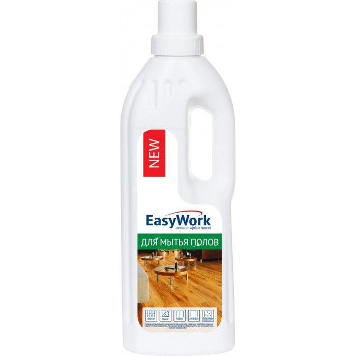 Бытовая химия EasyWork Средство для мытья полов универсальное 750 мл универсальное чистящее средство astonish с ароматом апельсина 750 мл