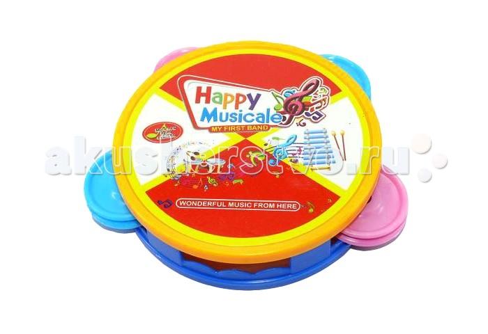 Музыкальные игрушки Veld CO Бубен 31323 шкаф 4 х дверный с зеркалом ребекка