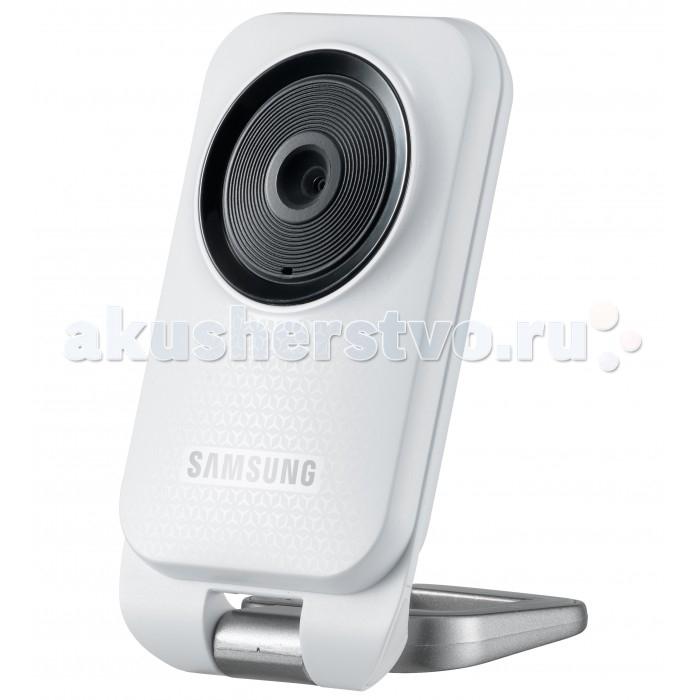 Samsung Видеоняня Wi-Fi SmartCam SNH-V6110BNВидеоняня Wi-Fi SmartCam SNH-V6110BNВидеоняня Wi-Fi SmartCam SNH-V6110BN предназначена для присмотра за  ребенком с помощью смартфона, планшета или компьютера через интернет.  Wi-Fi видеоняня SmartCam SNH-V6110BN отличается стабильной работой и стабильным приложением для мобильных устройств. Важной особенностью является возможностью выбора нескольких отдельных областей для отслеживания движения, например, только в зоне расположения детской кроватки и еще в двух любых областях.   У Wi-Fi видеоняни SmartCam SNH-V6110BN ночная подсветка не включается, а изображение на экране мобильного устройства в ночное время при свете детского ночничка выводится в цветном виде, что является неоспоримым преимуществом по сравнению с другими камерами, использующими инфракрасную подсветку, при которой изображение выводится в черно-белом виде.  Особенности: Потоковое видео 1080p Full HD с возможностью адаптации (для сетей со слабой пропускной способностью) Компактные размеры Оповещения о событиях (push-уведомления: движение, звук) Выбор нескольких зон отслеживания Лёгкое подключение Двухсторонняя связь Колыбельные мелодии Запись видео и фото Проигрывание собственных звуковых записей Поддержка устройств iOS (iPad, iPhone), Android, Windows (настольные компьютеры), Mac Ночное видение не включается, но даже при слабом освещении (например, при включенном детском ночнике) в комнате достаточная видимость, а изображение на экране цветное. Удобная подставка и возможность регулировки угла наклона  Комплектация: Камера Адаптер питания Инструкция пользователя  Технические данные: ОС- Linux Разрешение - 1920x1080, 1280x720, 640x360 Формат сжатия видео - H.264, MJPEG Беспроводное соединение - Wi-Fi 802.11 b/g/n (2.4G) Входное напряжение/ток - 5V DC / 1A Потребляемая мощность - 5 Вт Размер камеры: 51 x 93.2 x 19.5 см<br>