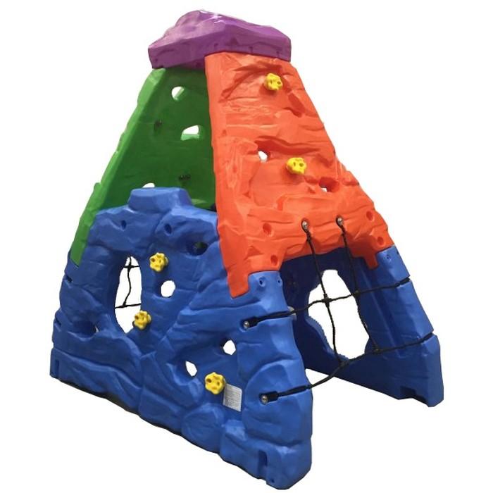 Lerado Стенка для лазания Альпинист LAH-718Стенка для лазания Альпинист LAH-718Lerado Стенка для лазания Альпинист LAH-718 поможет ребёнку овладеть навыками скалолазанья.   Игровой центр выполнен в стиле горы. Детские комплексы способствуют развитию координации движений, моторики, ловкости, укрепляют мышцы и, конечно же, развивают воображение.  Игровые комплексы станут настоящим украшением Вашего загородного дома. Надежная, устойчивая и безопасная конструкция найдет одобрение у родителей. Игровые комплексы пользуются особой популярностью.  Игровой комплекс Пирамида для лазанья - позволит Вашему ребёнку больше времени проводить на свежем воздухе развлекаясь, получать положительные эмоции вместе с Вами и своими друзьями.  Особенности: подходит для детей от 5 лет оригинальный дизайн товар сертифицирован устойчивая безопасная конструкция игровой комплекс Пирамида для лазанья LAH-718 поможет ребёнку овладеть навыками скалолазанья. игровой центр выполнен в стиле горы внутри игрового комплекса имеется импровизированный игровой элемент пещера с двумя входами на игровой центр можно залезать с 4-х сторон с 2-х сторон центр оснащен сетками также игровой центр внутри оснащен сеткой безопасности специальные разъемы и захваты в стенах создают удобный подъем прочная конструкция прослужит вашим детям долгие годы максимальная нагрузка 136 кг Размеры (дхшхв): 203 х 132 х 203 см Размеры в упаковке (дхшхв): 51 х 123 х 203.5 см Объем упаковки: 1.27м3 Вес: 67.5 кг<br>