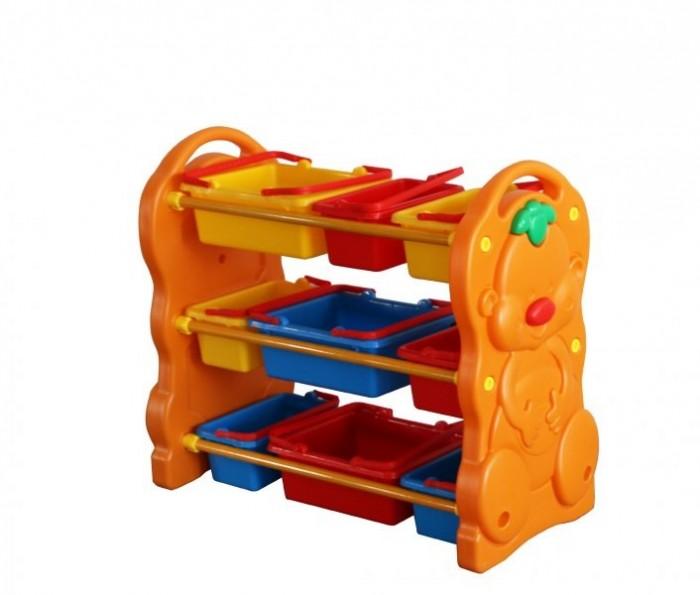 Family Этажерка для игрушек F-823Этажерка для игрушек F-823Family Этажерка для игрушек F-823 изготовлена из яркого, однородного и надежного пластика. Выполнена в ярких цветах и имеет оригинальный дизайн.   Краски устойчивы к ультрафиолетовому излучению и изменениям температуры, устойчивы к истиранию и воздействию внешней среды.  Этажерка соответствует ГОСТам, которые указаны в сертификатах соответствия. В комплекте устойчивая красочная этажерка и набор из девяти контейнеров для игрушек разных по размеру. Острые углы - отсутствуют. Детская этажерка рассчитана для детей дошкольного возраста, младших групп и ясель. Игровая площадка легко очищается и удобно в использовании  Размер: 95 х 42 х 79 см. Размеры упаковки: 0.82 х 0.41 х 0.43 м Объем: 0.15 м3. Вес: 7.7 кг.<br>