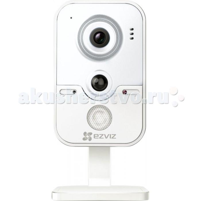 Ezviz Видеоняня C2W Wi-FiВидеоняня C2W Wi-FiEzviz Видеоняня C2W Wi-Fi - миниатюрная цветная IP-камера с подключением через Wi-Fi, встроенным микрофоном и динамиком. Это оптимальное решение для ведения наблюдения за домом, квартирой или другим небольшим объектом за счет простоты установки и легкости эксплуатации.  Устройство имеет компактные размеры и легко устанавливается в любом удобном для пользователя месте. Чтобы вести видеонаблюдение за домом из любой точки мира достаточно скачать и установить специальное приложение EZVIZ, которое также может объединить несколько устройств, установленных на одном объекте, в единую сеть.  Технические характеристики: предназначена для установки в помещении, но также хорошо выдерживает перепады температур от &#8722;30°С до +60°С максимальное разрешение записи С2W — 1280&#215;720, а скорость трансляции — 25 к/c угол обзора объектива с 4 мм фокусным расстоянием -55° для сжатия видеопотока применен кодек H.264/MJPEG ИК-подсветка для ведения наблюдения ночью, дальность составляет 10 м технология WDR дает возможность установить камеру напротив окон и дверных проемов, не теряя при этом в качестве съемки из-за резких перепадов света имеет микрофон и динамик, которые позволяют вести двустороннюю аудиозапись снабжена некоторыми Smart-функциями. Способна фиксировать движения, активировать запись и посылать владельцу оповещения о тревожных событиях.  подключается по WiFi. Запись производится на карту памяти microSD до 128 Гб. для подключения сетевой видеокамеры к питанию необходим источник постоянного тока 12В ±10% Размеры: 66х139х70 мм<br>